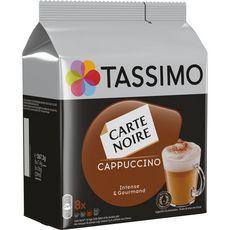 TASSIMO Cappuccino en capsule 16 dosettes 267g