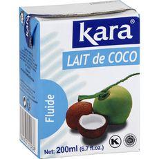 KARA Lait de coco fluide 200ml
