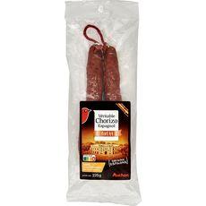 AUCHAN Chorizo Espagnol fort 225g