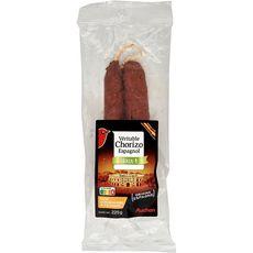 AUCHAN Auchan Chorizo doux 225g 225g