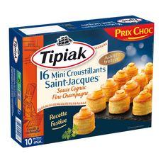TIPIAK Tipiak Mini croustillants de Saint-Jacques sauce Cognac 200g 16 pièces 16 pièces 200g