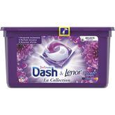 Dash pods lessive écodose bouquet mystère x35 -0,973kg
