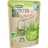 Blédina Blédina Purée haricots verts et petits pois bio à mélanger dès 6 mois 120g