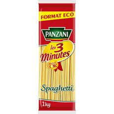 PANZANI Spaghetti cuisson rapide 3min 1kg