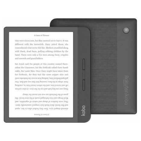 KOBO Liseuse eBook Libra H20 7 pouces Noir