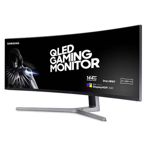 SAMSUNG Ecran PC Gaming incurvé LC49HG90DMUXEN 49 pouces Noir