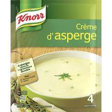Knorr soupe déshydratée crème d'asperges 4x70g