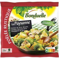 BONDUELLE Bonduelle Poêlée aux pommes de terre, brocolis et champignons de Paris 700g 700g