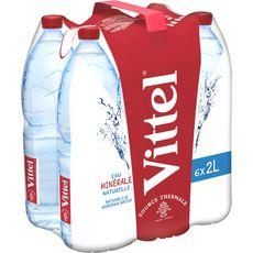 Vittel eau minérale plate 6x2l