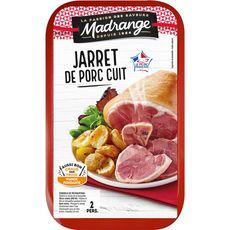 MADRANGE Jarret de porc demi-sel cuit 2 parts 700g