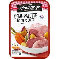 MADRANGE Demi- palette de porc demi-sel cuite 3 à 4 parts 800g