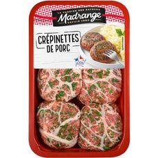 MADRANGE Crépinettes de porc 6 pièces 750g
