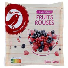 Auchan Mélange de fruits rouges 450g