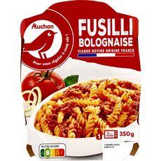 Auchan Fusilli à la bolognaise 350g