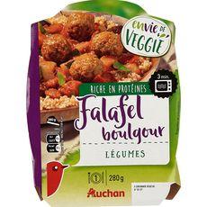 AUCHAN Auchan falafel boulgour légumes 280g 280g