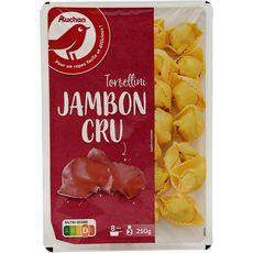 AUCHAN Tortellini au jambon cru 2 portions 250g