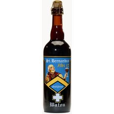 ST BERNARDUS Bière brune belge 10% 75cl