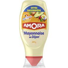 AMORA Mayonnaise de Dijon aux œufs de plein air en squeeze top down 685g