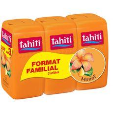 TAHITI Tahiti douche huile de monoï 3x250ml 3x250ml