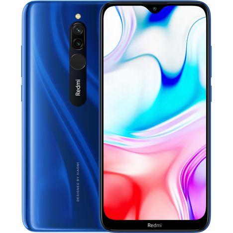 XIAOMI Smartphone Redmi 8 32Go 6.22 pouces Sapphire Blue Bleu 4G Double NanoSim