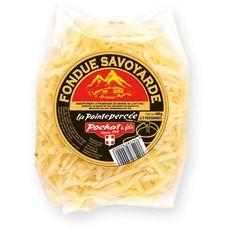 LA POINTE PERCEE Fromage à fondue savoyarde 400g