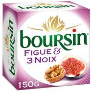 Boursin BOURSIN Fromage à tartiner aux figues et aux 3 noix 150g