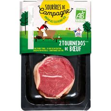 filet de tournedos bio 2x130g
