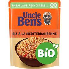 Uncle Ben's bio riz à la méditerranéenne 2min 240g