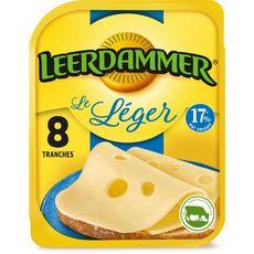 LEERDAMMER LEERDAMMER L'Allégé Fromage nature allégé en tranche 200g 8 tranches 200g