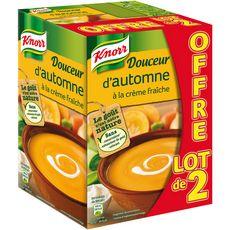 Knorr soupe légumes d'automne 2x1l