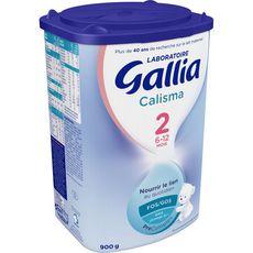 Gallia Calisma 2 lait 2ème âge en poudre de 6 à 12 mois 900g