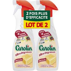 Carolin dégraissant savon de Marseille 2x650ml