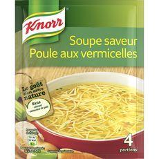 Knorr soupe déshydratée poule vermicelles 63g 4 portions