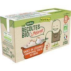 Blédina BLEDINA Sauce de légumes champignons bio à mélanger dès 10 mois
