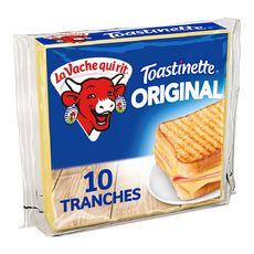 LA VACHE QUI RIT Toastinette Fromage pour croque monsieur 10 tranches 200g