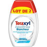 Teraxyl Teraxyl dentifrice 2en1 blancheur+ 2x75ml