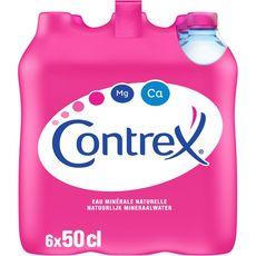 CONTREX Eau minérale naturelle plate 6x50cl
