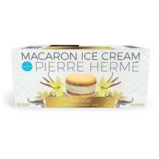 PAPILA Macaron vanille 2 pièces 170g