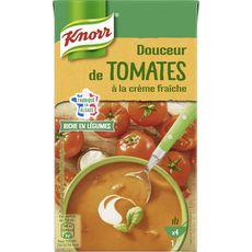 Knorr soupe liquide tomates crème fraîche 1l