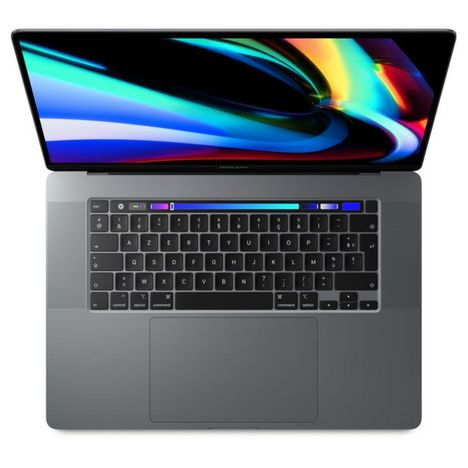 APPLE Ordinateur portable MacBook Pro Touch Bar 16 pouces 512 Go SSD Gris Sideral