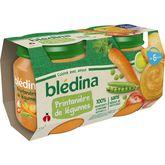Blédina pot printanière de légumes 2x130g dès 6 mois