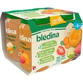 Blédina Blédina Petit pot 3 variétés de légumes dès 6 mois 4x200g