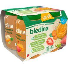 Blédina BLEDINA Petits pots 3 variétés de légumes dès 6 mois