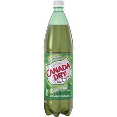 CANADA DRY Boisson gazeuse rafraîchissante saveur gingembre 1,5l