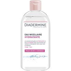 Diadermine Eau micellaire hydratante peaux sèches et sensibles 400ml