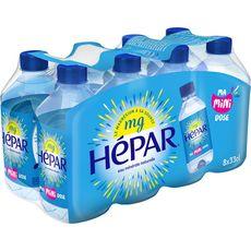 Hépar eau minérale plate 8x33cl