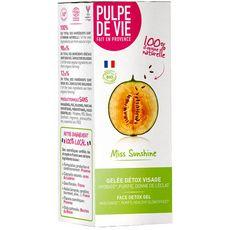 Pulpe De Vie Gelée détox visage bio au melon 40ml