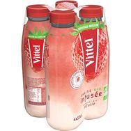 Vittel Vittel Eau infusée à la fraise bio bouteilles 4x50cl