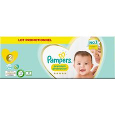 PAMPERS Pampers Premium protection pants couches-culottes taille 2 lot promo x124 124 couches