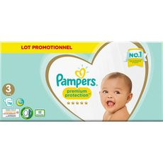 Pampers Premium protection pants couches-culottes taille 3 lot promo x116